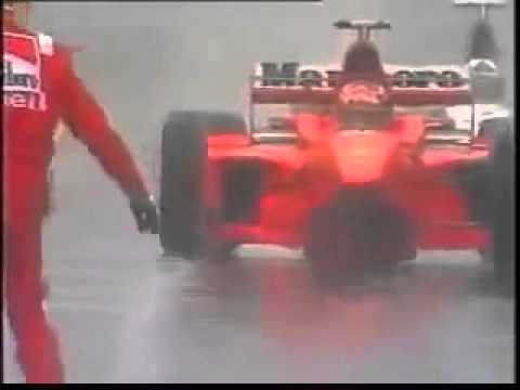 Image: WATCH: Classic Belgian GP moment: Schumacher slams into Coulthard 1998!