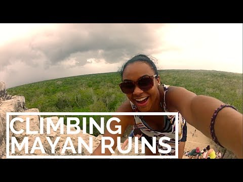 Thunderstorms and Mayan Ruins [Mexico]