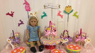 AG Doll Easter Party