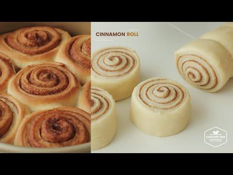 시나몬롤 만들기 : Cinnamon Roll Recipe   Cooking tree