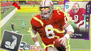 Steve Young Is LITERALLY Overpowered With Unfair Abilities! (Madden 20 Ultimate Team)