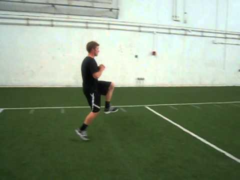 Single Leg Forward Hops