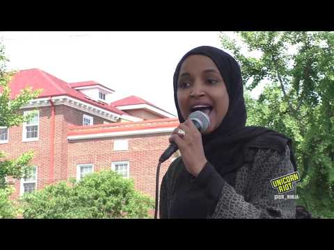 Congresswoman Ilhan Omar Says MPD Should be Dismantled