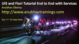 SAP UI5 and Fiori Training | SAP Fiori tutorial