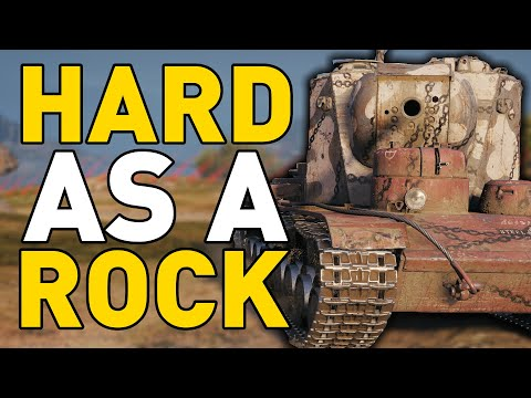 HARD AS A ROCK - World of Tanks
