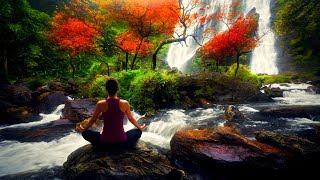 Relaxar: MÚSICA RELAXANTE Para DORMIR com Suave Som de Cachoeira e Floresta