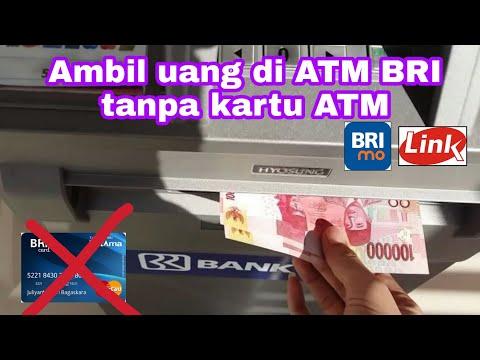 Cara Tarik Tunai Di ATM BRI tanpa kartu ATM