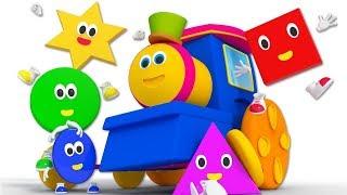 Nursery Rhymes & Songs for Kids | Cartoon Videos for Children - Bob The Train
