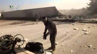 preview picture of video 'مدينة الباب   سقوط شهداء وجرحى جراء قصف الطيران المروحي على المدينة 17 12 2013'