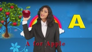 A for Apple B for Ball ||Nursery rhymes for Kids Collections