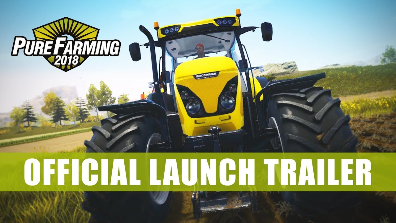 Trailer di Pure Farming 2018
