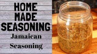 Homemade Seasoning The Jamaican Recipe    VERY EASY RECIPE