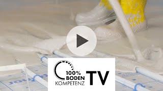 Knauf 100%-Bodenkompetenz-TV Folge 2: Fließestrich verarbeiten, trocknen und prüfen