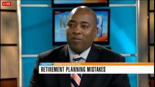 "On News Talk Live Discussing ""Major Retirement Planning Mistakes"", on News Channel 8"