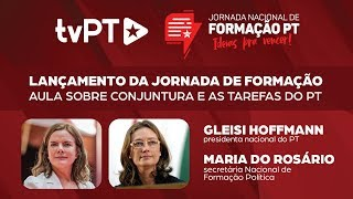 #AOVIVO | Lançamento da Jornada de Formação PT – Ideias pra vencer!