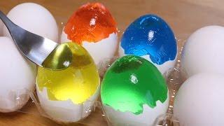 How to make Colorful Egg Jello for Easter | Kholo.pk