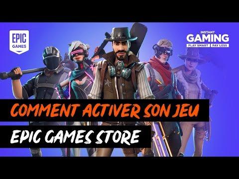 Comment activer son jeu sur Epic Game Store