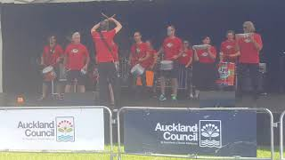 Ak Samba performance at Auckland International Cultural Festival 2018