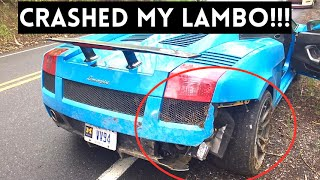 HE WRECKED MY LAMBORGHINI !!! by Vehicle Virgins