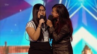 Ana and Fia - Britain's Got Talent 2016 Audition week 6