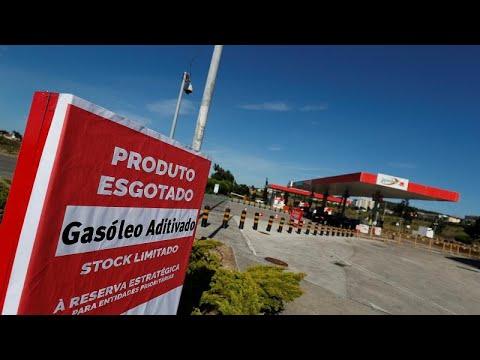 Μεγάλη έλλειψη καυσίμων στην Πορτογαλία