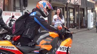 美人ライダー アクラポビッチサウンドを聞け CBR1000RR  Repsol  Fireblade ファイヤーブレード  HRC 女性ライダー