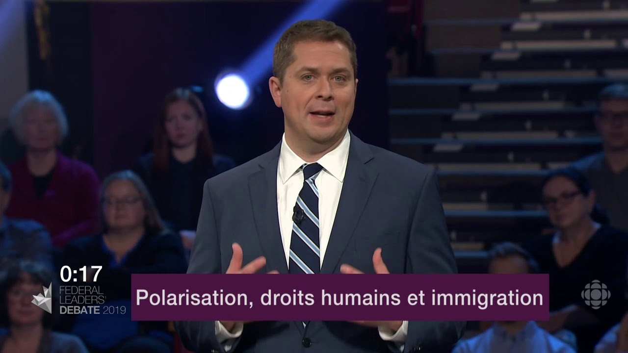 Andrew Scheer répond à la question d'un citoyen sur les divisions au Canada