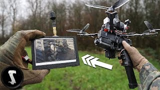 Assault Drone with Full-Auto Glock G18C Scares the $H!T out of People!