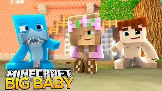 Minecraft Big Baby : LITTLE KELLY MEETS SHARKY AS A BABY!