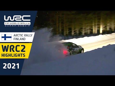 WRC2 2021 第2戦のラリーフィンランド 土曜日のハイライト動画