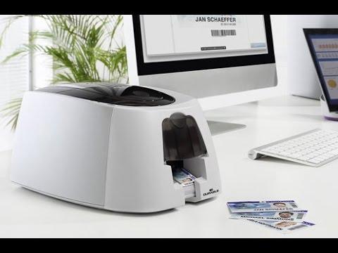 Kartendrucker 'Duracard ID 300' - Plastikkarten randlos in 4 Farben bedrucken