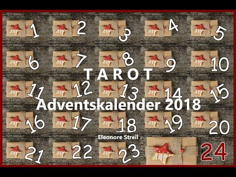 Tarot Adventskalender - 10 .Türchen (видео)