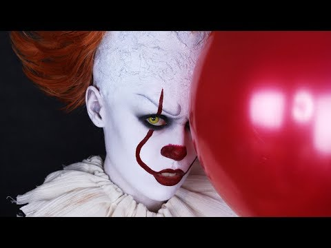 IT 2017 - Pennywise / Halloween Makeup Tutorial