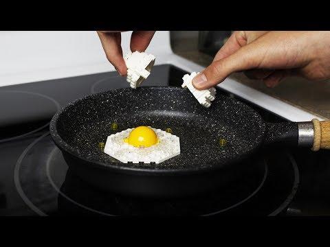 大家都愛玩樂高,但你有吃過樂高做的早餐嗎?