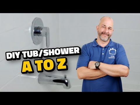 DIY How to Renovate the Tub / Shower from A to Z