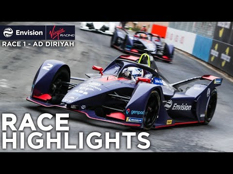 Formula E Ad Diriyah E-Prix Race Highlights! (Envision Virgin Racing)