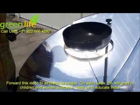 Efficient parabolic solar cooker nagpur