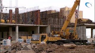 Подрядчики, строящие детские сады в Великом Новгороде, серьезно отстают от графика
