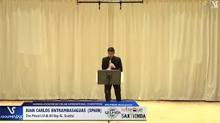 Juan Carlos ENTRAMBASAGUAS plays Tre Pezzi by G. Scelsi #adolphesax