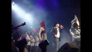 LAGRIMAS-JULION ALVAREZ Y DULCE MARIA  CON BANDA.
