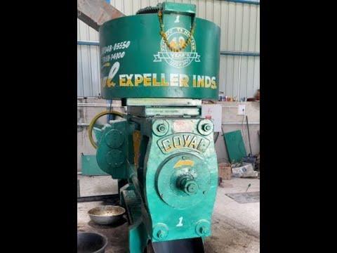 Round Kettle Oil Expeller