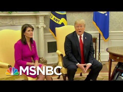 Nikki Haley Accuses John Kelly, Rex Tilllerson Of Undermining Trump   Hardball   MSNBC