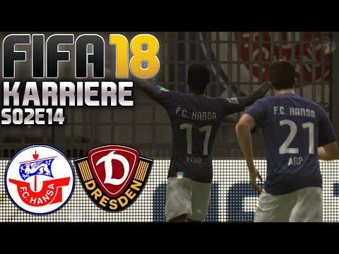 FIFA 18 KARRIERE ⚽ S02E14 • Hansa Rostock vs. Dynamo Dresden • LET'S PLAY