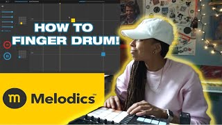 Learn how to finger drum with Melodics || Melodics Review