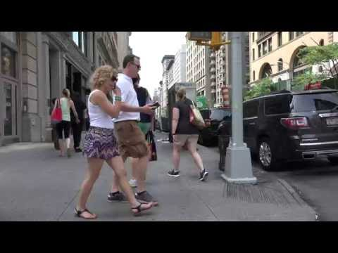 Video A Walk at Fifth Avenue  -  New York 2016