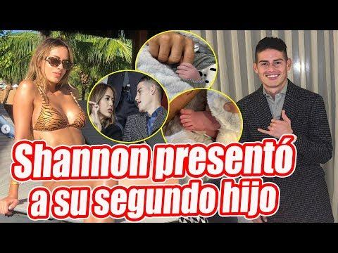Shannon de Lima presento a Samuel, segundo hijo de James Rodriguez
