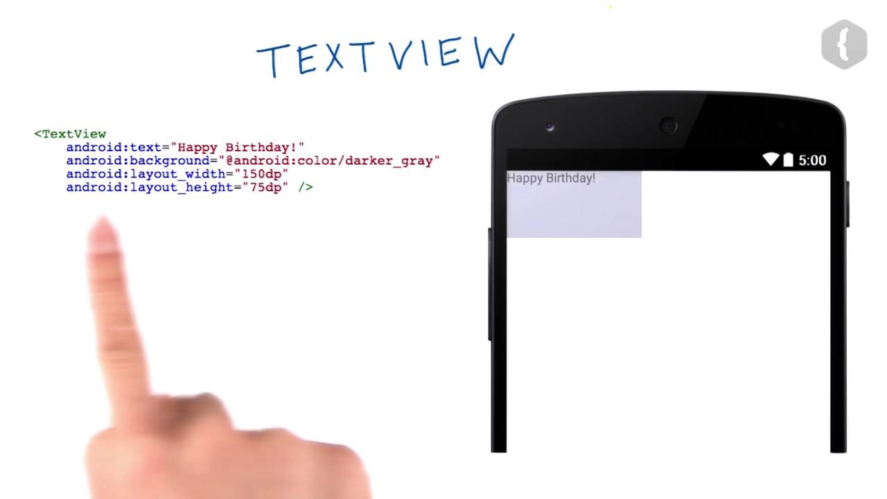 Используем текстовое поле - 1