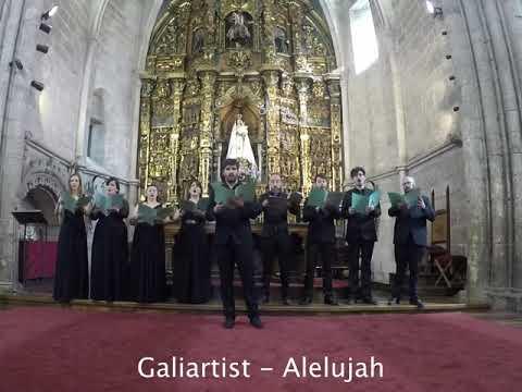 Alelujah de Cohen-Coro Galiartist a capella