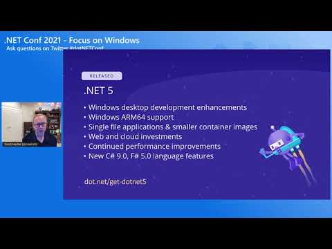 Welcome to .NET Conf: Focus on Windows