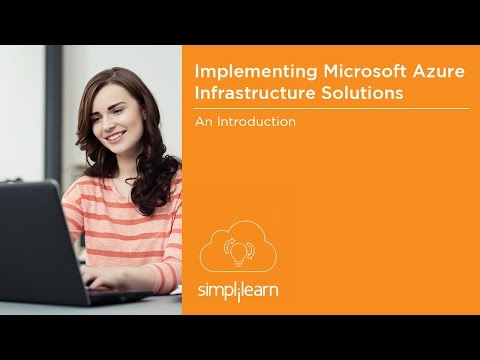 Microsoft Azure Infrastructure Solutions (70-533) Certification ...